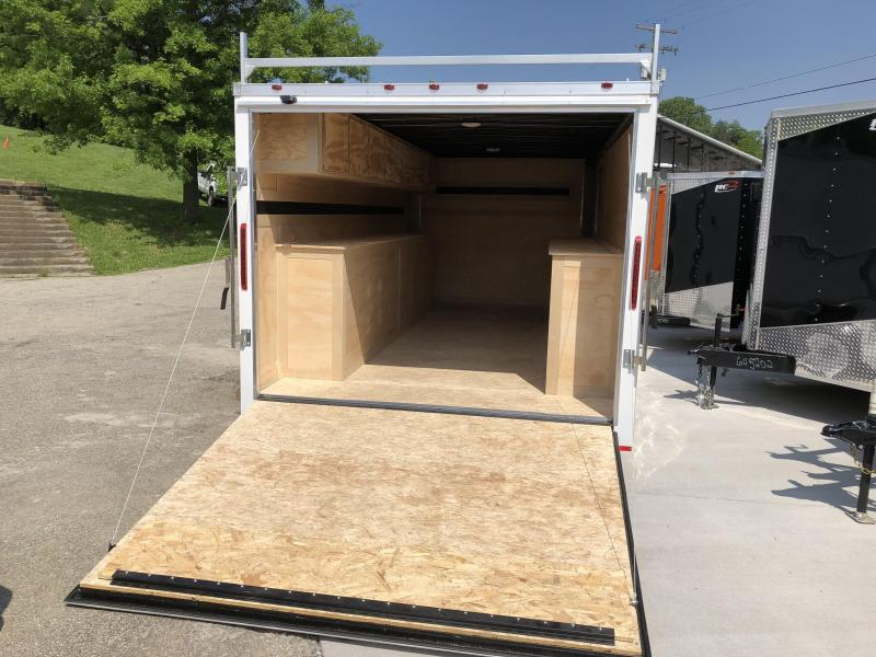 2018 RC Trailers Tool Box Trailer Enclosed Cargo Trailer