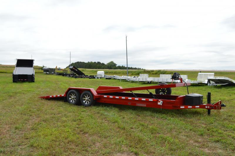 2019 Midsota TB-24 Full Tilt Flatbed Trailer