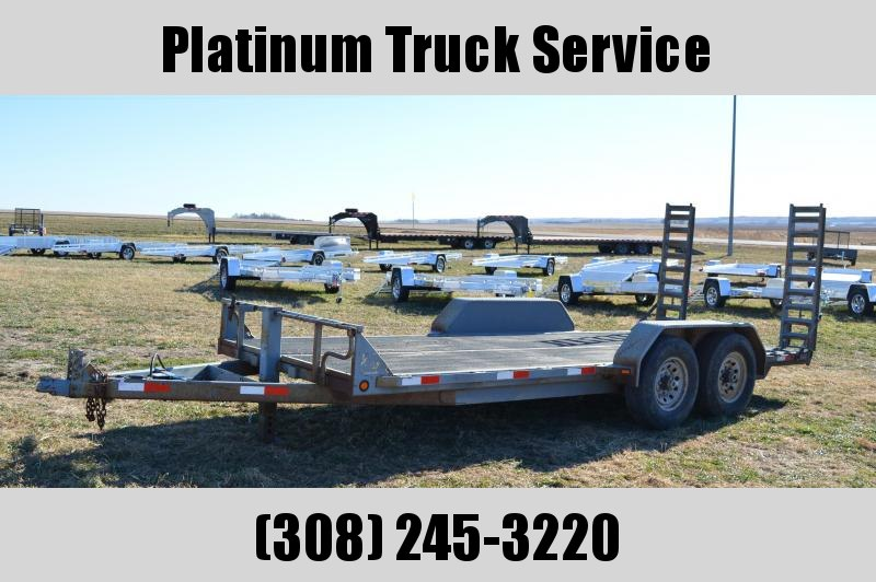 2007 Titan Trailers Titan Equipment Trailer