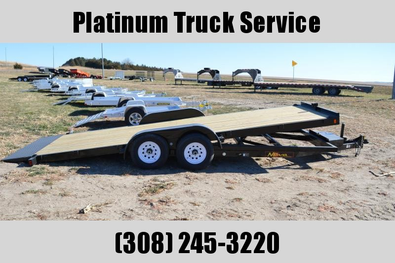 2019 Midsota Nova TB8220 Equipment Trailer